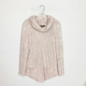Anthropologie Guinevere | cowl neck knit sweater M